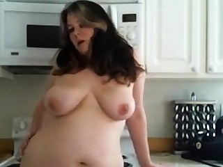 Bbw afro less a hariy pussy and heavy boobs