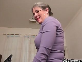 An aged dame means joy part 35