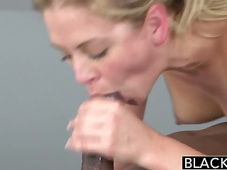 BLACKED Hot Festival Cherie Deville Takes Big Disastrous Cock