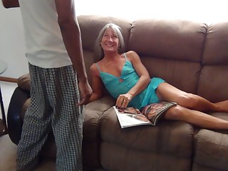 I'm Oversexed Again - Milf Wants Beamy Pitch-black Dick