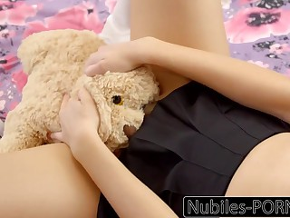 Nubiles-Porn Hot Daughter Squirts At bottom Daddy's Big Cock