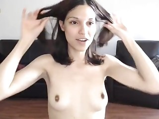 Tantalizing Darkhaired Toddler Camshow - FUCK MOVIE