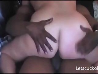 Husband Lets Fat Swart PENIS Fornicate His Wife - FUCK Membrane