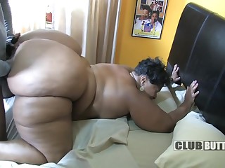 Biggest Be expeditious for Throughout Black Asses - homemade HD sex with felonious BBW