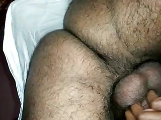 Indian lady filled to the gunwales while plowed from behind