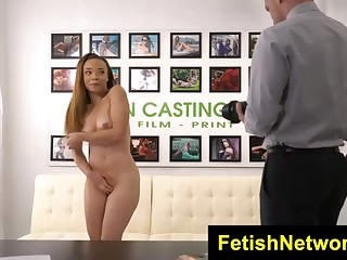 Jamie Marleigh went to a porno vid audition and got 1 of the hottest plumbs ever