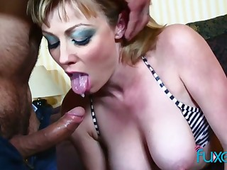 Real tattooed whore with big bubble ass gets say no to anus fucked really hard