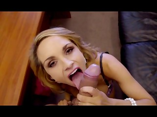 Delicious Comme ci - amateur POV oral and vaginal sex just about the office