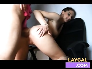 Unpaid hot anal on real homemade