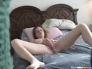 18-Year-Olds Teen Masturbating On The Hidden Cam