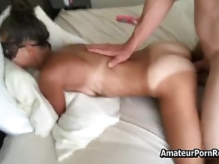 Real Amateur Milf Pretty Masked Bikini Marks Cumshot Superior to before Toilet water Real Sex Video