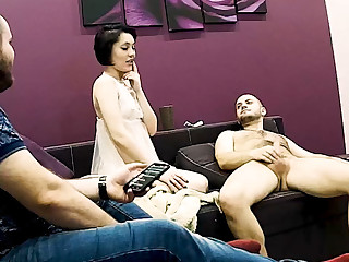Stepmom Has Hard Sex While Stepson is Watching on Hidden Cam