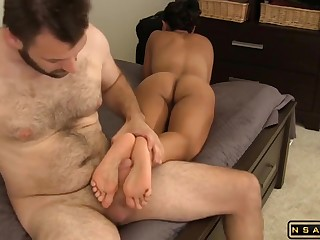 Stacked Dark Haired Lady Latina US Mom With