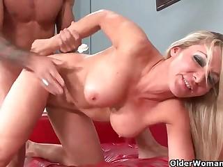 Lisa de Marco & Barry Scott hot porn video