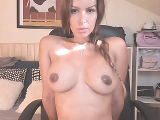 Amazing hot girl shows her tits vulnerable Webcam