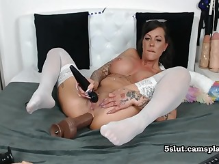 German Mature Crazy - Hot Unassisted Video