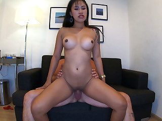 Quarantine homemade porn video with his big tits Asian go steady with