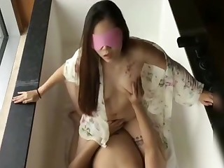 Hot asian MILF amateur sex video